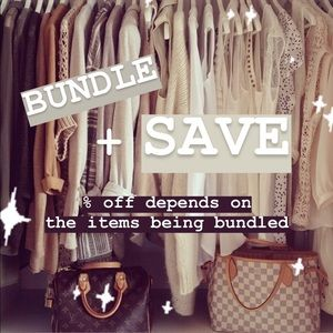 BUNDLE + SAVE!!!!!!